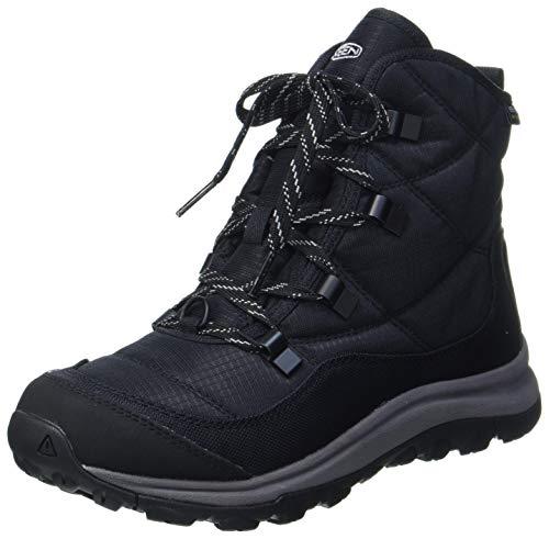 KEEN Women's Terradora 2 Ankle Boot Wp Snow, black/drizzle, 8.5