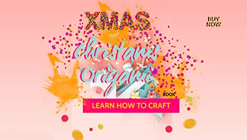 Learn How To Craft Christams Origami Book (English Edition)
