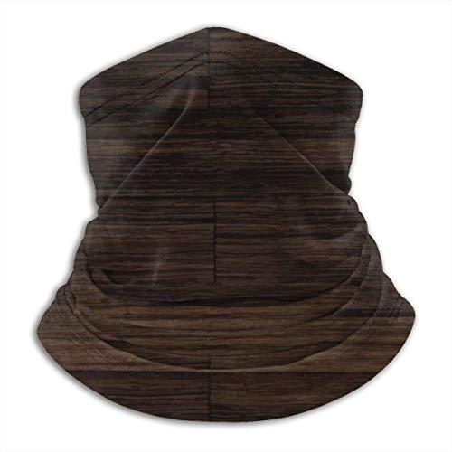 Niet geschikt voor het sporten van donker hout en plank textuur, hoofdband, bandana, hoofdband, sjaal, halswarmer, hoofddeksel, bivakmuts voor sport