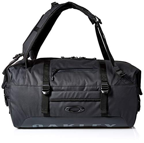Oakley Mens Men's Training Duffle Bag, Blackout