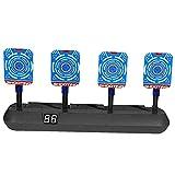 Target de tiro electrónico anotando automáticamente los objetivos digitales para los juguetes de las pistolas de nerf, el juguete ideal para los regalos para niños y niñas
