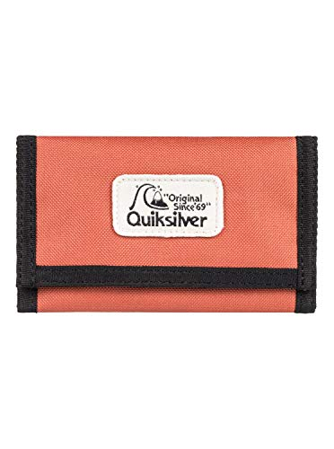 Quiksilver Herren Wallets The Everydaily - Dreifach Faltbares Portemonnaie, Redwood, L, EQYAA03908