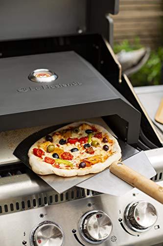 La Hacienda BBQ Pizza Oven Black Pizzaofen, Schwarz