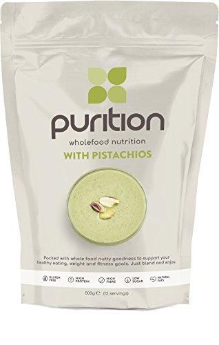 Purition Batido de proteínas de Pistacho (500g). Batido para el desayuno