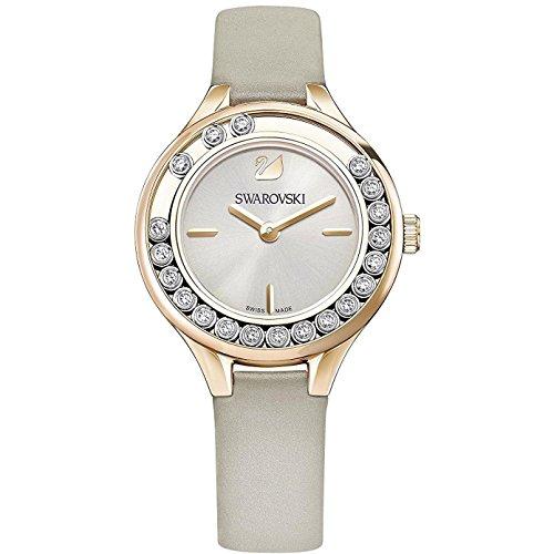 Swarovski Reloj de mujer cuarzo analógico color gris caja de 5261481
