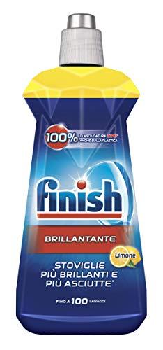 Finish Brillantante Additivo Lavastoviglie, Limone, 500 ml
