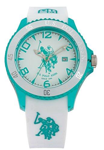 US Polo Association Reloj Analógico para Hombre de Cuarzo con Correa en Cuero USP4291GR