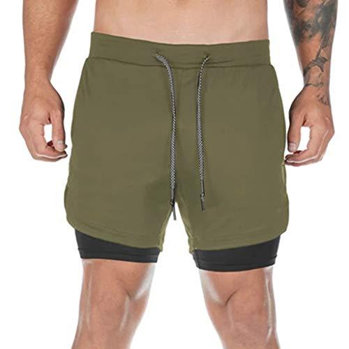 Pantal/ón corto de yoga para hombre pilates o artes marciales de YogaAddict incluso para uso al aire libre Ideal para cualquier estilo de yoga