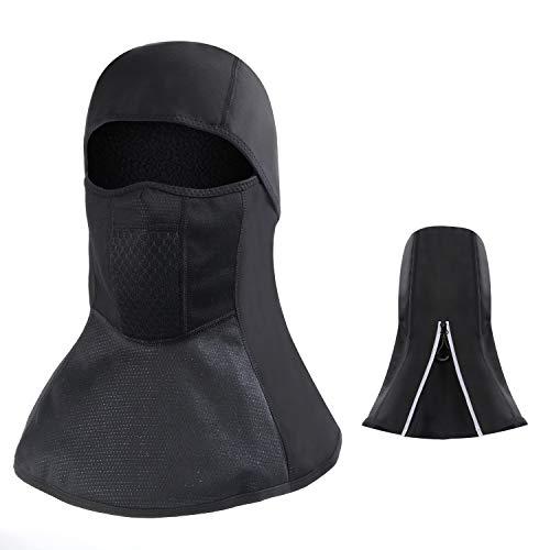 Laxus Bivakmuts, waterdicht, winddicht, ademend, zwart, balaclava gezichtsmasker, voor mannen en meisjes