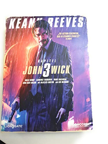 John Wick Kapitel 3 - Exklusive VHS Retro Tape Edition nummeriert Limitiert auf 1.111 Stück - Blu-ray