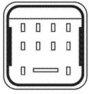 HELLA 4RV 008 188 481 Steuergerät, Glühzeit   12V   Anschlussanzahl: 9   Glühkerzenausf.: nachglühfähig   Zylinderanzahl: 4