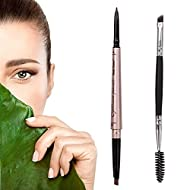 HeyBeauty Eyebrow Pencil with Brow Brush, Double Ended Eyebrow Pen, Automatic Makeup Cosmetic Tool (...