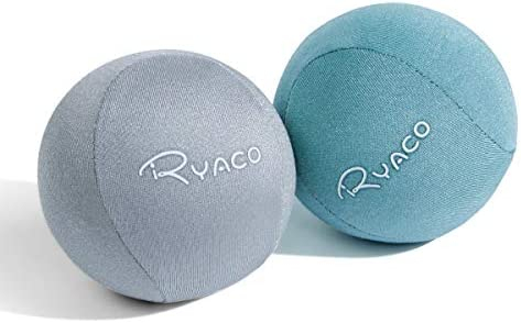 Ryaco 2PCS Hand Exercise Gel Stress Balls Set Soft Hard Gel Balls Set of 2 for Adults Kids Anxiety product image