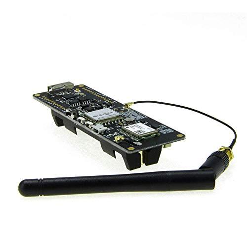 ICQUANZX T-Beam ESP32 915Mhz WiFi Módulo Bluetooth inalámbrico ESP32 GPS NEO-M8N SMA Lora 32 18650 Soporte de batería con SoftRF