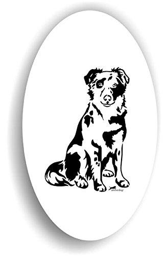 amberdog Tiger Altdeutscher Hütehund Hunde Sticker Auto Aufkleber Art.ST0255, Autoaufkleber...