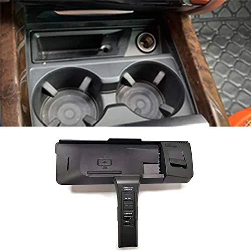 Cargador inalámbrico QI para coche, cargador de teléfono inalámbrico, accesorios de soporte para teléfono de carga para BMW X5 F15 X6 F16 X5M F85 X6M F86 2015-2018