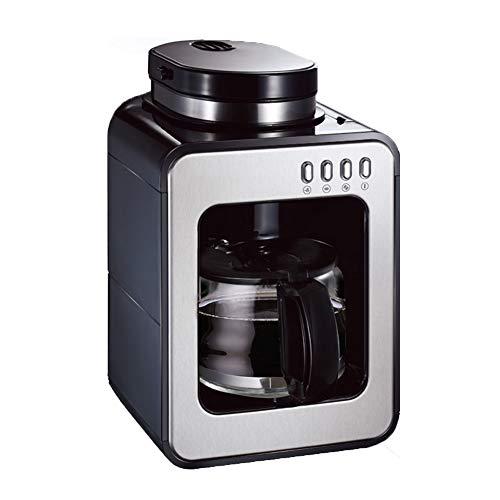 Espresso Automatique Bean Cup Machine à café, métal, Machine à café, Filtre Intelligent Rappel Machine à café Machine à café