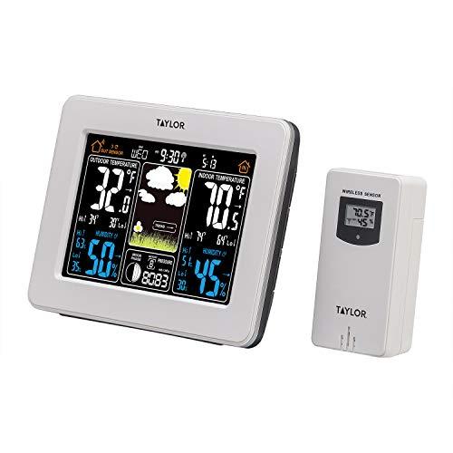 Top 10 Best taylor indoor outdoor thermometer