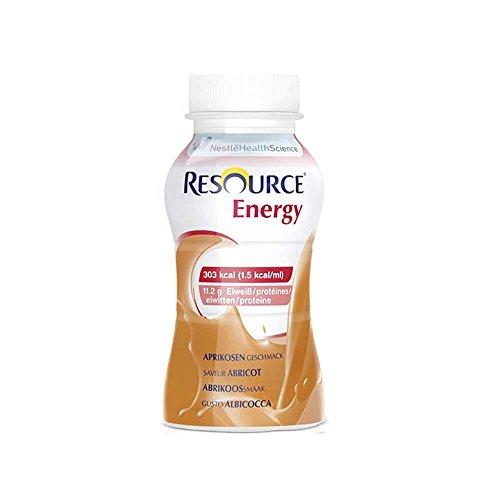 Nestle dricknäring Resource® Energy aprikos, 200 ml, 4 stycken