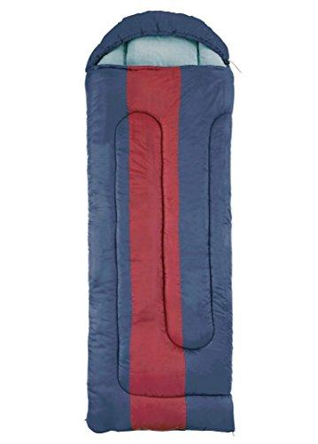 Coleman slaapzak Hudson, rechthoekige slaapzak, binnen & buiten, 2 seizoen, warme vulling, voor volwassenen