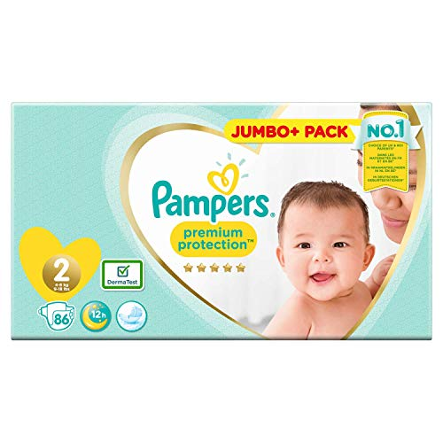 Pampers 81686982 Premium Protection windeln, weiß