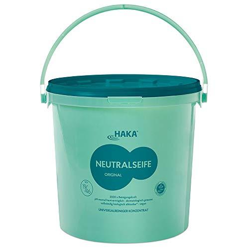 HAKA Neutralseife Pastös I 10 kg Neutralreiniger I Universalreiniger für Haushalt und Auto I PH-neutrales Reinigungsmittel I Biologisch abbaubar