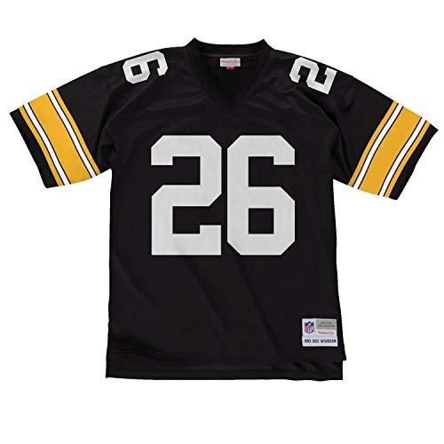 Mitchell & Ness Rod Woodson #26 Pittsburgh Steelers Legacy Throwback NFL Trikot Schwarz, XXL