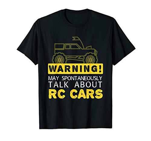 Talk About RC Cars I ModellBau Modell Fernsteuerung RC Auto T-Shirt