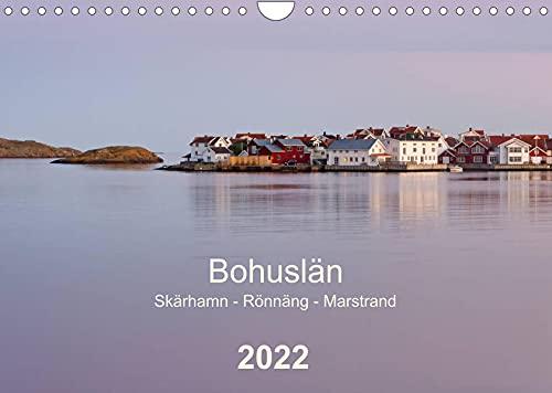 Bohuslän. Skärhamn - Rönnäng - Marstrand (Wandkalender 2022 DIN A4 quer): Idyllische Dörfer, zauberhafte Landschaften und eine traumhafte Schärenküste (Monatskalender, 14 Seiten )