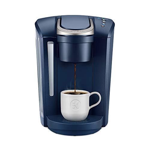 Keurig K-Select Coffee Maker, Single Serve K-Cup Pod Coffee Brewer, With Strength Control and Hot Water On Demand, Matte Navy
