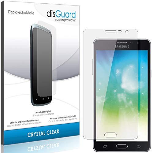 disGuard Panzerglas-Folie für Samsung Galaxy On7 Pro [2 Stück] Bildschirmschutz-Folie, extrem Kratzfest, Kristall-Kar, HD-Clear, Ultra-transparent