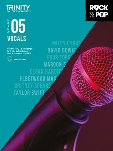 Trinity Rock & Pop 2018 Vocals: Grade 5