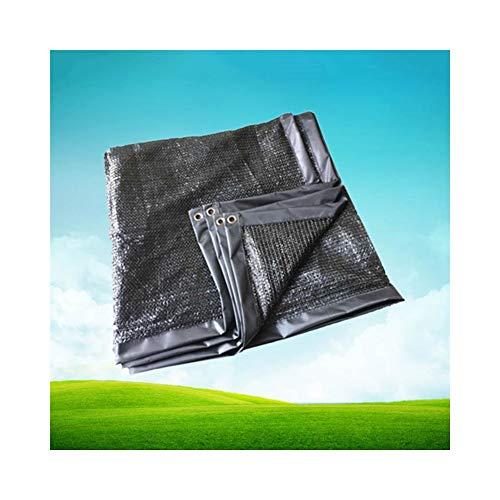 ALGFree Rectangle Voile D'ombrage Auvent Auvent pour L'extérieur Jardin Patio Fête Filet D'ombre Vent-Preuve Sun-Proof Auvent Parasol (Color : Black, Size : 1.9×1.6m)
