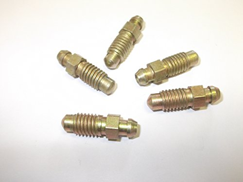 Innovo Lot de 5 vis de purge de frein 8 mm x 1,25 mm pour voitures, camionnettes, camions