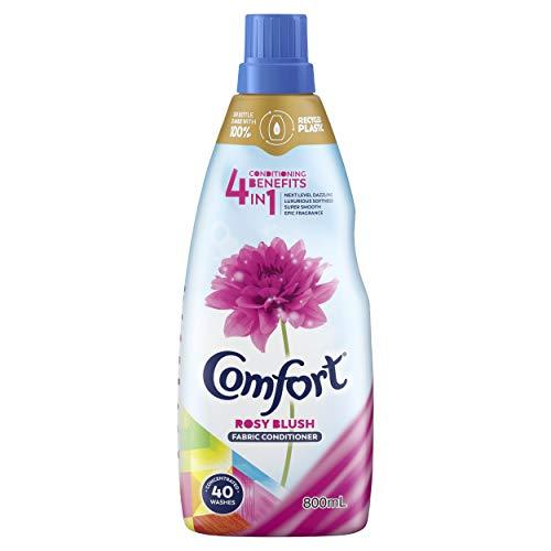 Comfort 4 in 1 Fabric Conditioner Rosy Blush, 800ml