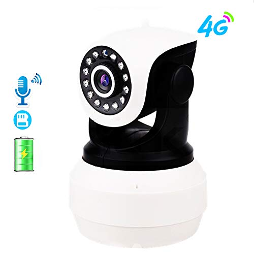 Wifi Camera 4G Camera Ingebouwde Batterij GSM SIM-Kaart Camera Wireless Home Security 1080P HD Video Surveillance IP Camera Met 64 GB Geheugenkaart