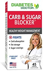 professional Diabetic Food Intake Carbohydrates and Sugar Blockers – Reduced Blood Glucose and Carbohydrate Fluctuations…