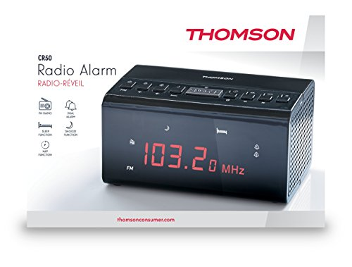 Thomson, Radio Clock (Black)