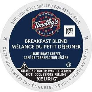 Best timothy's breakfast blend coffee Reviews