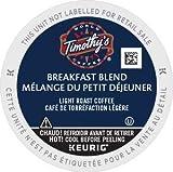 60 Count - Timothy's Breakfast Blend Coffee K-Cup For Keurig Brewers (Breakfast Blend, 60)