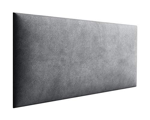 Jerpax 3D Wandpolster aus Webstoff - Wandpaneel mit 50mm Polsterung - Wandpolsterung inkl. Wandbefestigung - Wandkissen mit Montagestreifen