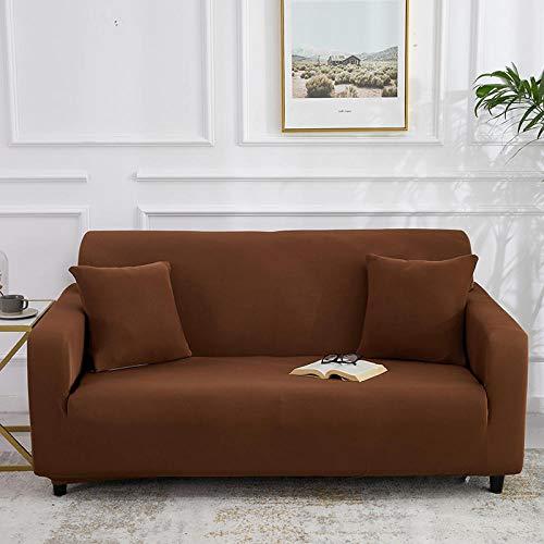 B/H Cubre Sofa Universal Tejido de Poliéster,Funda de sofá elástica Fundas de sofá Todo Incluido para Sala de Estar Funda de sofá-28_145-185cm_China,elástico elástico extraíble Cubierta