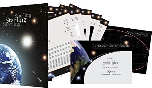 Starling Registro de Estrellas - Comprar una Estrella - Regalar una Estrella (Starlet)
