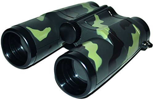 Funny Fashion Jumelles Militaires 13 cm - Noir - Taille Unique