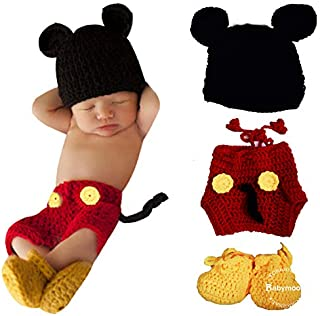 BabyMoon (Set of 3) Baby's Crochet Clothing