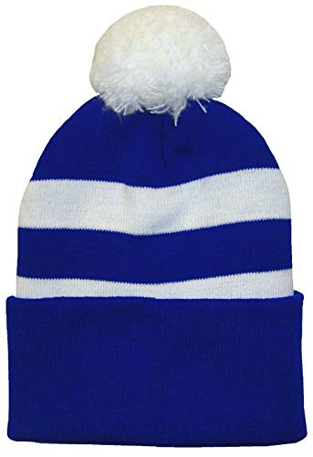 Arena Sjaals Bristol Rovers Supporters Royal Blauw en Wit Bobble Hoed