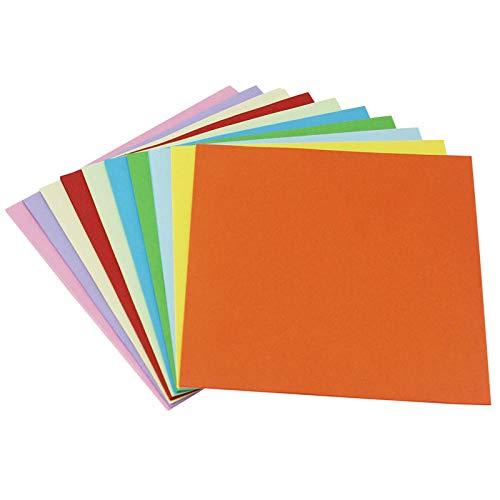 DIY Origami/zweifarbiges Papier/Büttenpapier/DIY handgeriebenes Papier-20 * 20 cm 100 Blatt