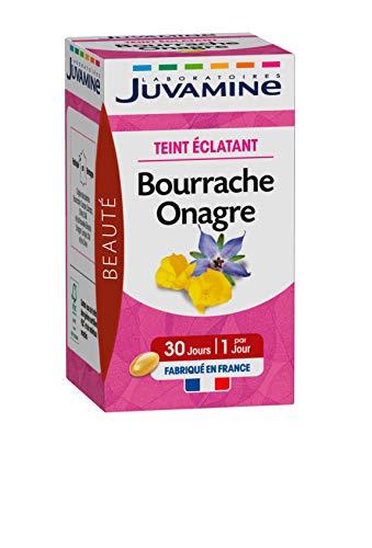 Juvamine Teint Eclatant Bourrache Onagre 30 Capsules