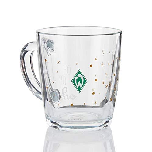 Werder Bremen Weihnachts Tasse/Glas HO HO HO