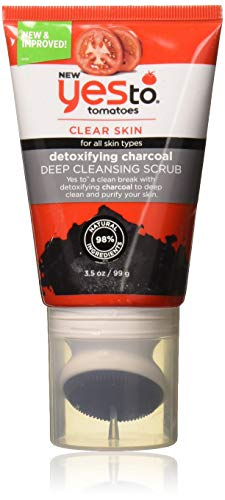 Yes To, Tomatoes Detoxifying Deep Cleansing Scrub for Deep Cleaning, Purifying and Unclogs Pores